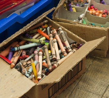 crayons tate modern