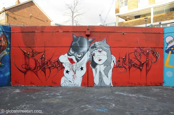 Stockwell-Parlee-Essex-Rockers graffitti