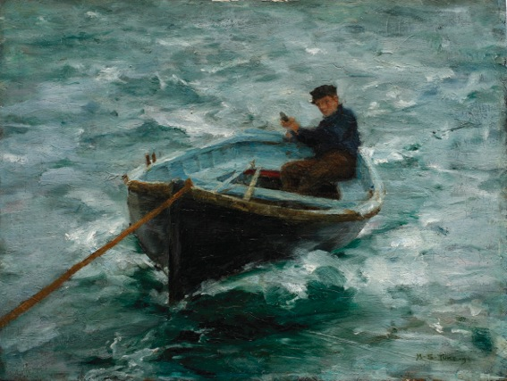95 - Tuke Collection - Henry Scott Tuke - In Tow -p
