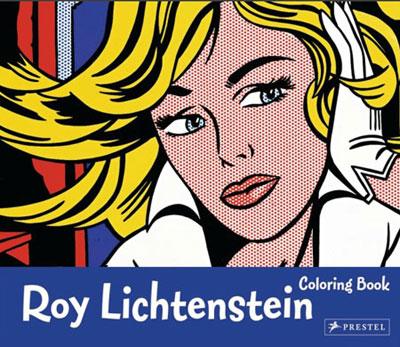 colouring book lichtenstein