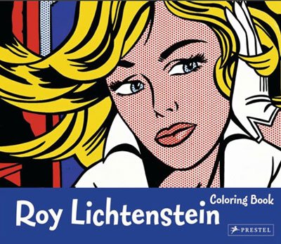 colouring book lichtenstein