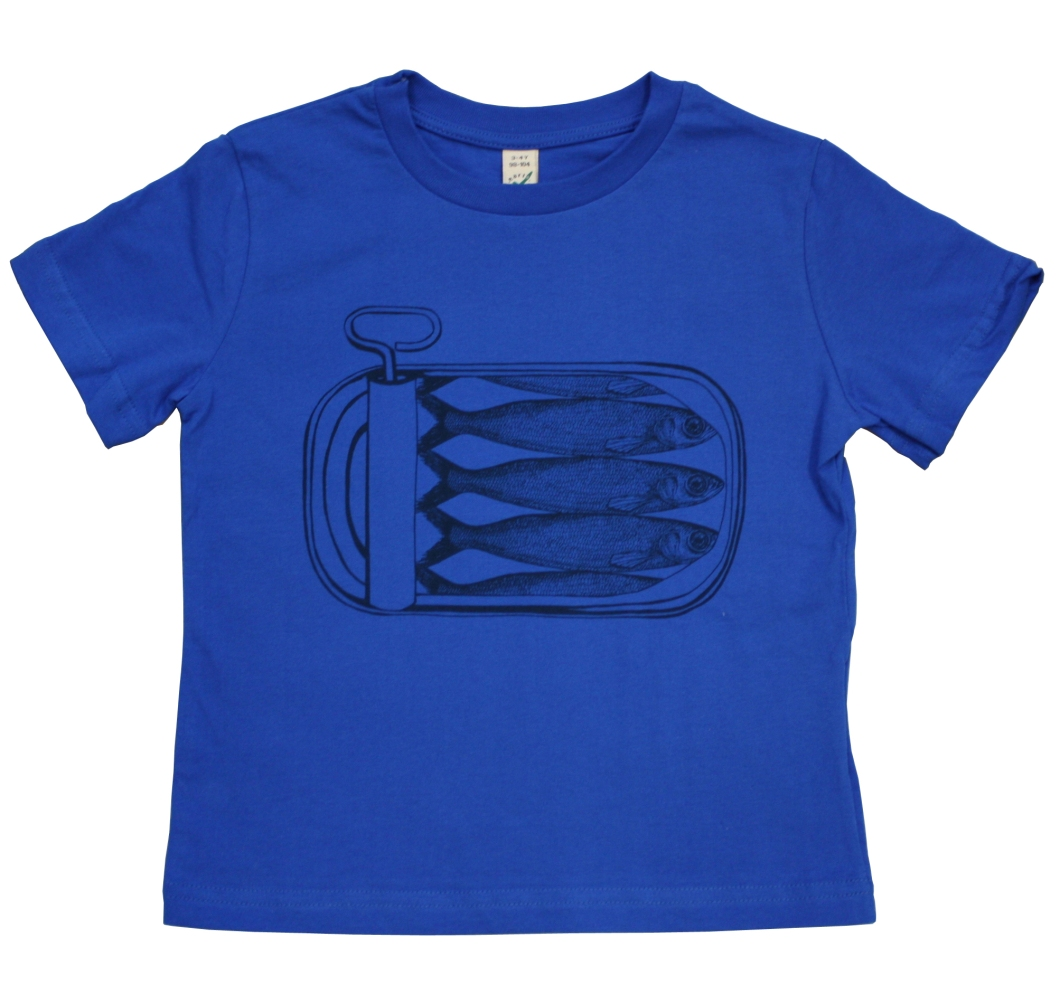 Thornback and Peel Linen Children's T-shirt