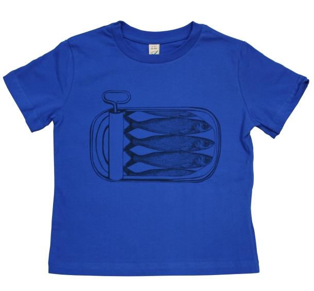 Thornback and Peel Linen Children's T-shirt