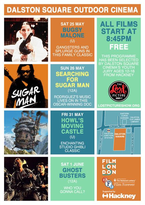 Dalston Square Cinema flyer