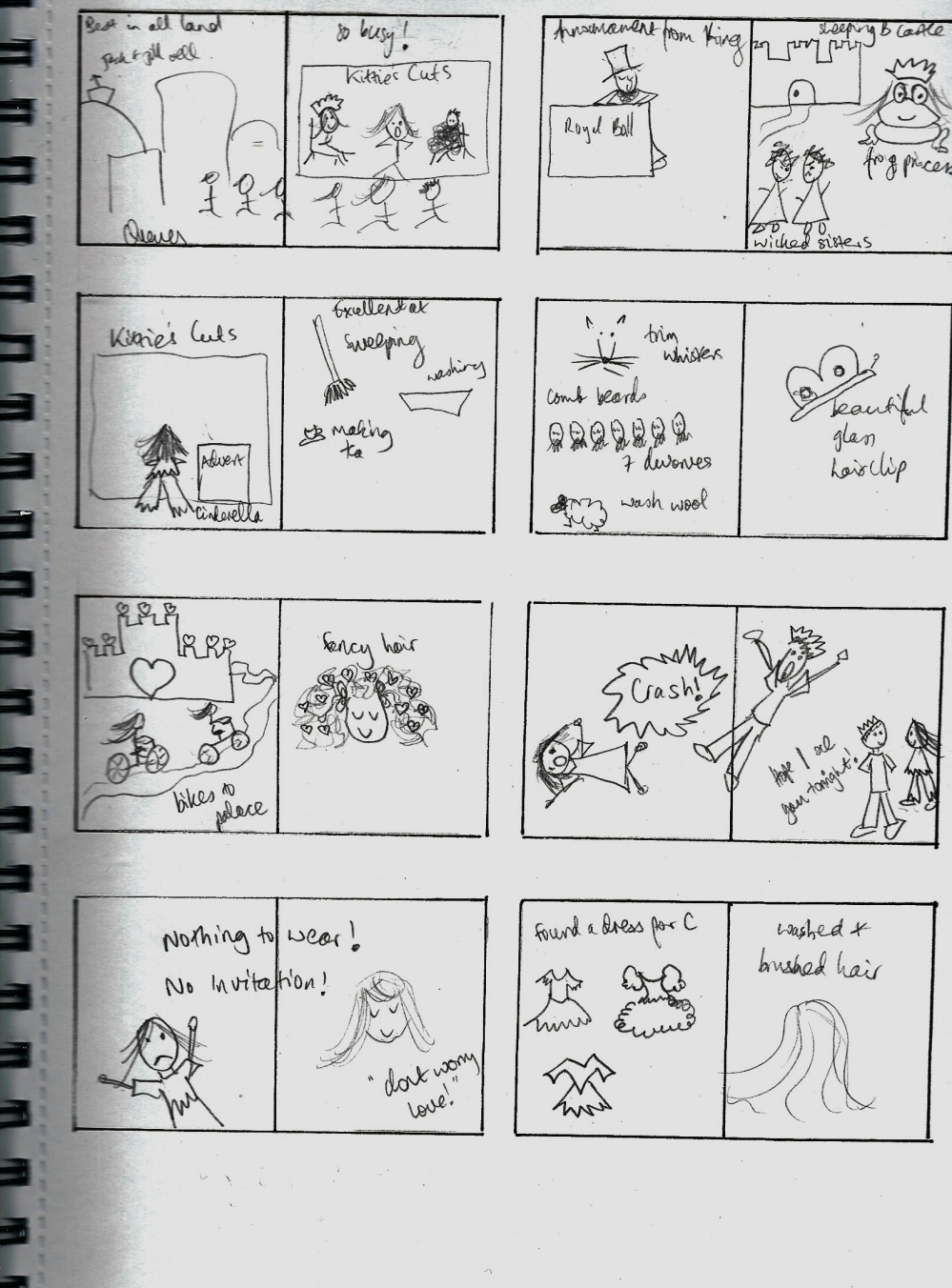Picture 1 Thumbnails for The Fairytale Hairdresser and Cinderella