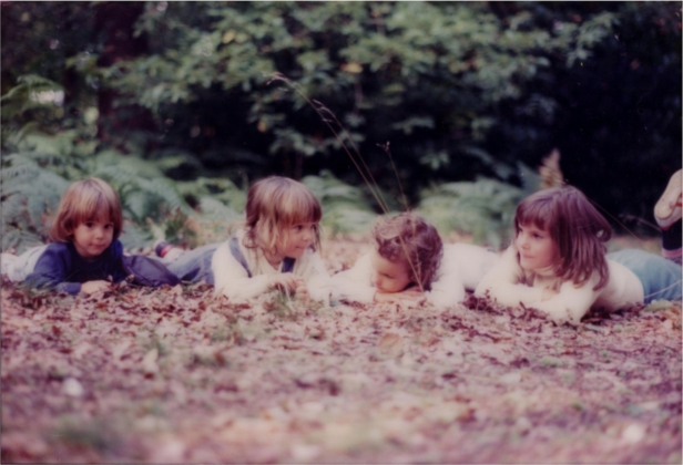 Picture 5 - Me, with 3 of my 5 sisters