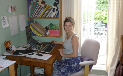 Picture 6 - Me at my desk2