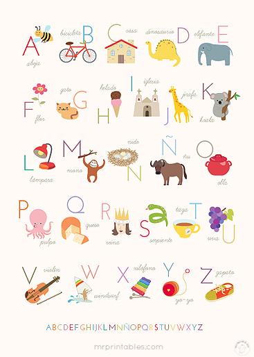 spanish-abc-poster