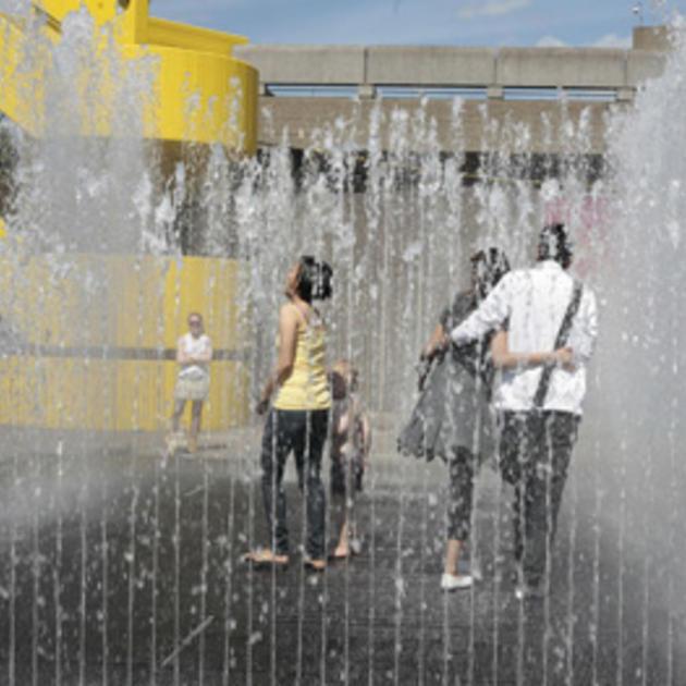 southbank centre fountains