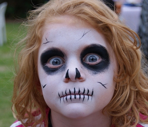 Halloween Face Painting