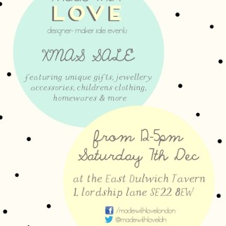 East Dulwich Xmas Sale