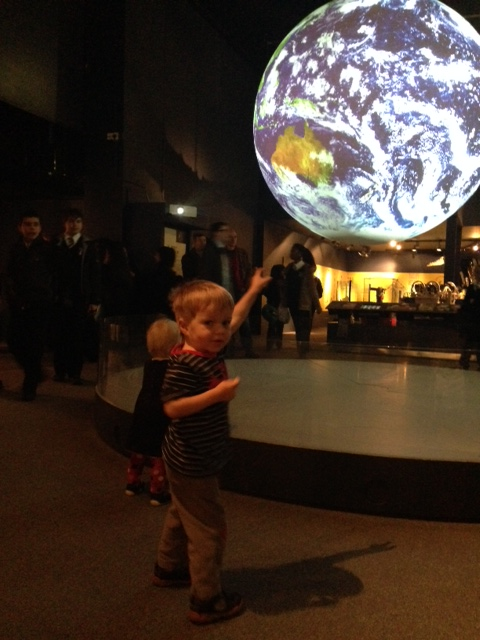 The Bear and the World at the Science Museum
