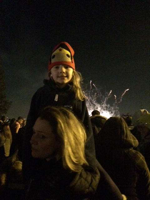 P and Me Fireworks 2014
