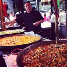 Paella at Borough
