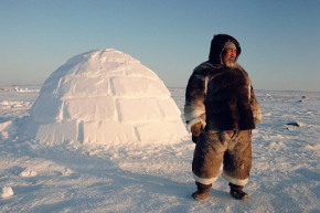 Watch and Learn How To Build An Igloo