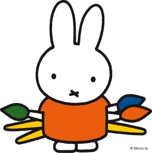 miffy with paint brushes-1