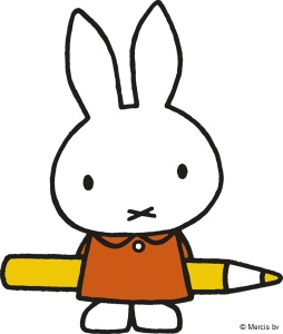 miffy with pencil-1