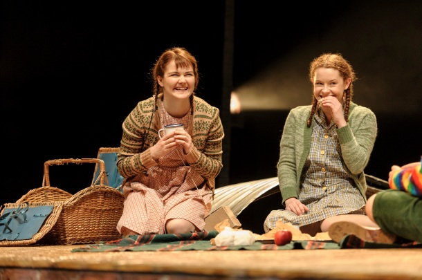 8. (L-R) Hollie Taylor (Ginnie) and Martha Seignior (Carrie) in Goodnight Mister Tom 2015 Credit Dan Tsantilis.jpg.jpg