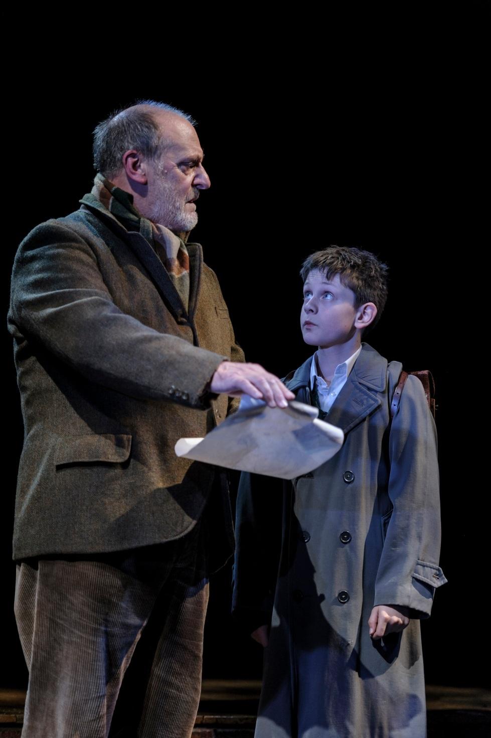 9. David Troughton (Tom Oakley) and Alex Taylor-McDowall (William) in Goodnight Mister Tom 2015 Credit Dan Tsantilis.jpg.jpg