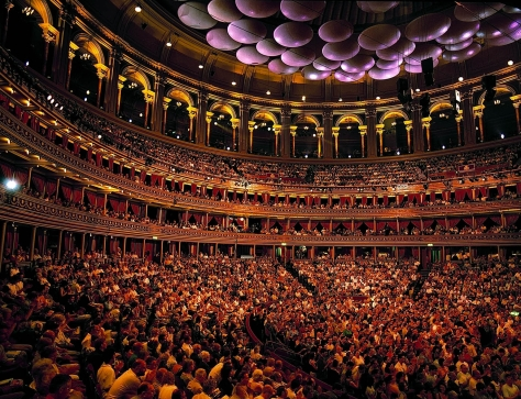 BBC Proms audience at the Royal Albert Hall